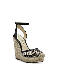 Zestah Women's Wedge Sandal