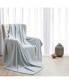 Luxurious Thermal 100% Cotton Blanket, Twin