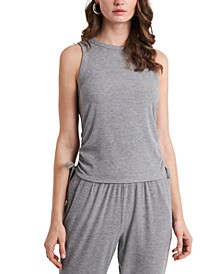 Ruched Side-Tie Tank Top