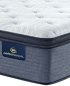 "Perfect Sleeper Renewed Night 16"" Plush Pillow Top Mattress- Queen"