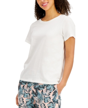 Solid Cotton T-Shirt