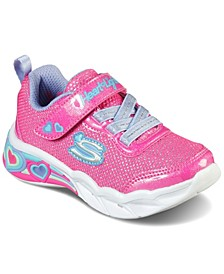 Toddler Girls S Lights Sweetheart Lights - Shimmer Spells Casual Sneakers from Finish Line