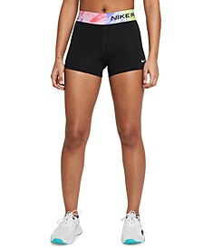 """Women's Tie-Dye Waist Pro 3"""" Shorts"""