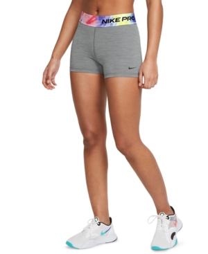 """Nike WOMEN'S TIE-DYE WAIST PRO 3"""" SHORTS"""