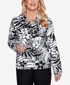Plus Size Classics S1 Tropical Skin French Terry Jacket