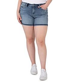 Plus Size Avery High-Rise Shorts