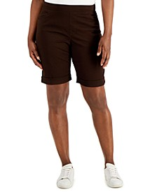 Cuffed Pull-On Shorts, Created for Macy's