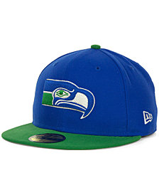 New Era Seattle Seahawks Historic Basic 59FIFTY Hat