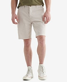 Men's Stretch Flat Front Shorts