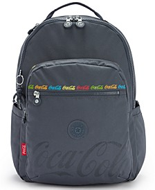 "Coca-Cola Seoul Large 15"" Laptop Backpack"