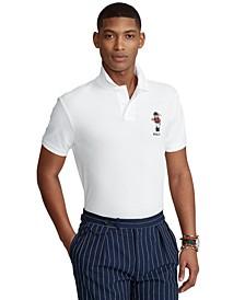 Men's Custom Slim Fit Polo Bear Polo Shirt