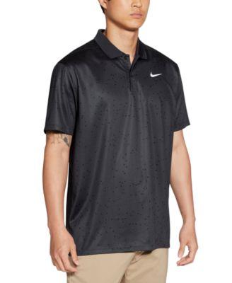 나이키 골프웨어 폴로 반팔티 Nike Mens Victory Dri-FIT Triangle-Print Golf Polo Shirt