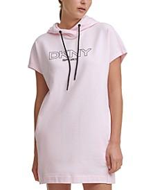 Sport Hooded Sweatshirt Dress