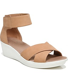 Riviera Ankle Strap Wedge Sandals