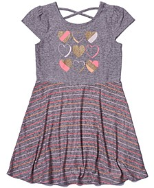 Toddler Girls Graphic Skater Dress