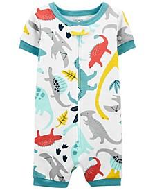 Baby Boys Dinosaur Romper Pajamas