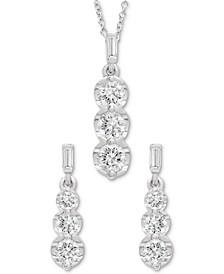 Graduated Diamond Drop Jewelry Collection