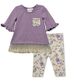 Baby Girls 2-Pc. Tunic & Capri Leggings Set