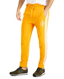 Men's Logo-Print Taped Joggers, Created for Macy's