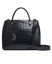 Lansdowne Road Faux Croc Large Grab Tote