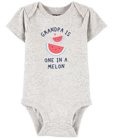 Baby Boys and Girls Grandpa Original Bodysuit