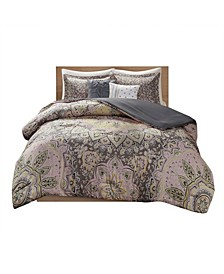 Odette Full/Queen Boho Comforter, Set of 5