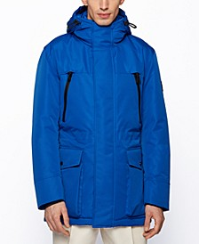 BOSS Men's Demos Regular-Fit Parka Jacket