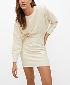 Women's Textured Cotton Dress