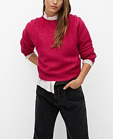 Women's Pleated Knit Sweater
