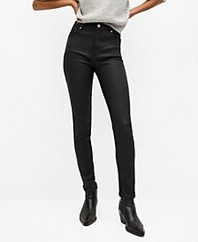 Women's Coated High Waist Skinny Noa Jeans