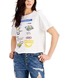 Juniors' Cotton Kraft Dinner Graphic-Print T-Shirt