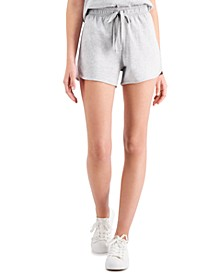 Petite Cotton Cutaway Shorts, Created for Macy's