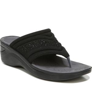 Dazzle Me Washable Thong Wedge Sandals Women's Shoes