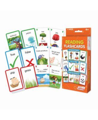 Junior Learning Reading Flashcards Educational Learning Set