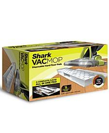 VACMOP™ Disposable Hard Floor Pad Refills, Box of 16