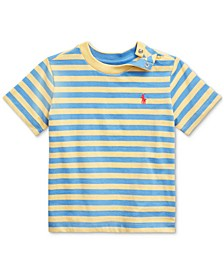 Ralph Lauren Baby Boys Striped Cotton T-Shirt