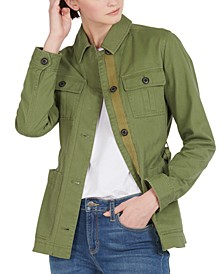 Victoria Cotton Utility Jacket