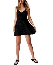 Women's Woven Sandy Skater Dress