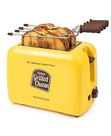 GCT2 Deluxe Grilled Cheese Sandwich Toaster with Easy-Clean Toasting Baskets, Adjustable Toasting Dial and Extra Wide Slots