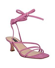Women's Agnes Strappy Low Dress Sandals