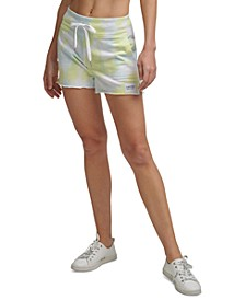 Tie-Dyed French Terry Shorts