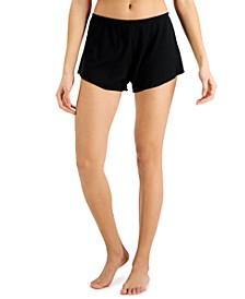 Rib-Knit Sleep Shorts, Created for Macy's