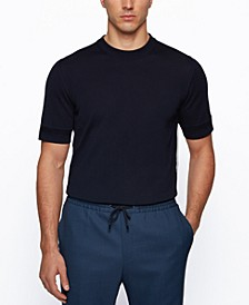 BOSS Men's Mercerized Regular-Fit Sweater