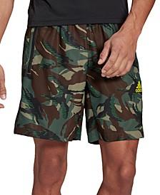 Men's Designed 2 Move Camo Printed Shorts