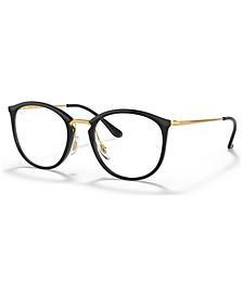 RX7140 Women's Square Eyeglasses