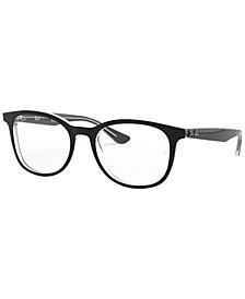 RX5356 Unisex Square Eyeglasses
