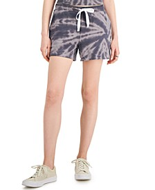 Petite Tie-Dyed Shorts, Created for Macy's
