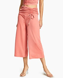 INC Ruched Culottes, Created for Macy's