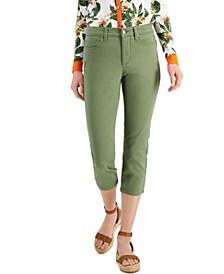 Tummy Control Bristol Capri Jeans, Created for Macy's