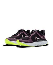 Women's React Infinity Run Flyknit 2 Running Sneakers from Finish Line